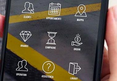 CUBEverse - Apps & Websites Creators Portfolio ICONIC Milano Application