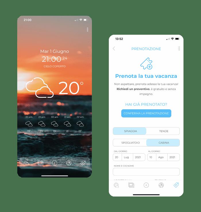 Bagno Ronchi Applicazione iPhone Android